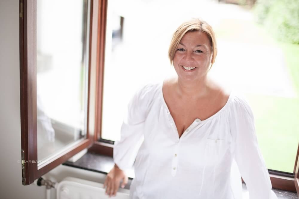 La stylista Chloé Renier
