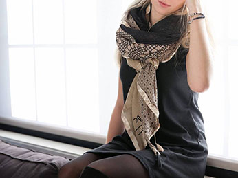 Succès des foulards Shanna