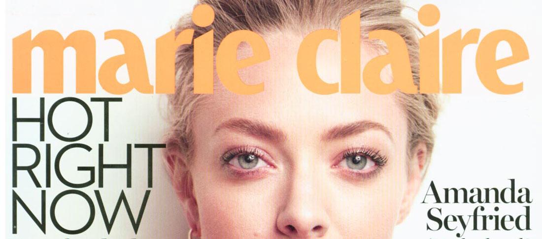 Marie Claire - Berichterstattung