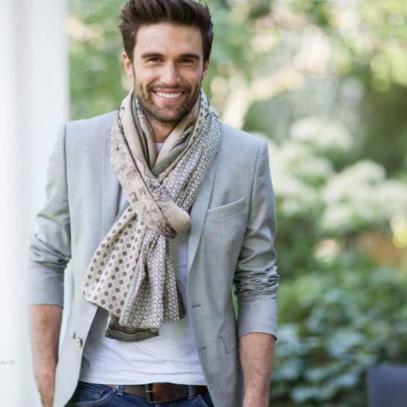 shanna mode foulards pour homme shanna alphonse 2015. Black Bedroom Furniture Sets. Home Design Ideas